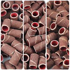"200pcs x Sanding Bands For Electric Nail Drill Bit Sandpaper (80"" / 120"" / 180"")"