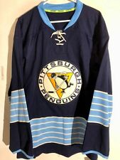 Reebok Authentic NHL Jersey Pittsburgh Penguins Team Navy Alternate sz 46