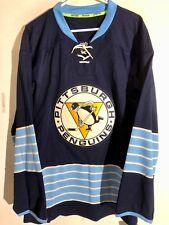 e70962405 Reebok Authentic NHL Jersey Pittsburgh Penguins Team Navy Alternate sz 46