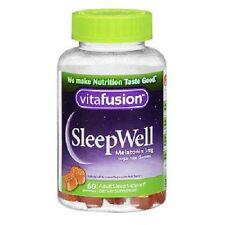 Vitafusion Sleep Well Gummy 60ct Sleep Support in a Tasty, Sugar-Free