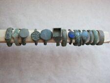 Set of 14 pcs old antique vintage rings