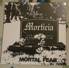 Morticia SEALED LP Mortal Fear 1987 Minnesota Goth Metal Mint