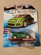 Hot Wheels 2010 Speed Machines Green Volkswagen Scirocco GT24 HTF
