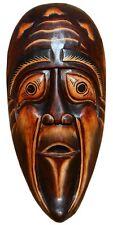 Schöne Mystik Holz Maske Geist Tod Kopf Afrika Gothik Handarbeit Bali Maske65