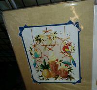 Epcot 2019 Festival Of Arts Disney Happy Pineapple Song Tiki Room Bird Kim Print