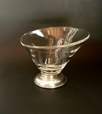 Vintage Sterling Silver Glass Bowl Candy Dish