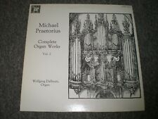 Michael Praetorius~Complete Organ Works Vol. 2~Wolfgang Dallman~Inner~FAST SHIP!