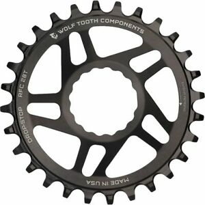 Wolf Tooth Components Drop Stop Race Face Cinch Direct Mount Chainring - Boost