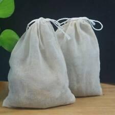 3x Organic Cotton Nut Milk Bag Reusable Food Strainer Brew Coffee Cheese Bag