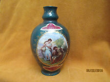 Antique Austrian Hand Painted Porcelain Vase - Josef Riedl