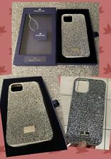 Swarovski Glam Silver Black Sparkle - iPhone® 11 Pro - Bumper Case Genuine NEW