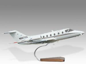 Beechcraft Hawker Beechjet 400A Solid Mahogany Replica Airplane Desktop Model