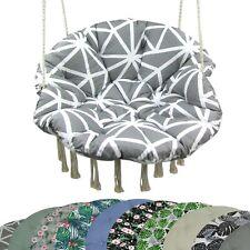 BAMBINIWELT Sitzkissen Kissen Auflage für Hängesessel Bohosessel Schaukel Garten