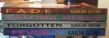 Lot of 4 TSPB in Fade series by Kailin Gow~Fade/Falling/Forgotten/Fever