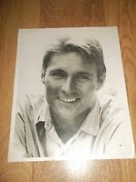 "JOHN PHILIP LAW ~ LARGE BLACK & WHITE PROMO PHOTO 14"" X 11"""