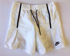 New Nike SportsWear Bonded Shorts Women's White Size Small