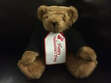 Vermont handmade Happy Valentine's Day Brown Teddy Bear