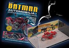 COLECCION COCHES DE METAL ESCALA 1:43 BATMAN AUTOMOBILIA Nº 51 BATWOMAN BIKE