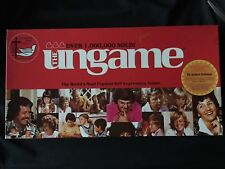THE UNGAME CHRISTIAN BOARD GAME 1985 DR. JAMES DOBSON SELF EXPRESSION COMPLETE