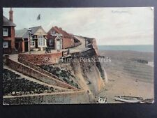 Sussex: ROTTINGDEAN shows Restaurant on Cliff Top c1906 by H.J.Smith of Brighton