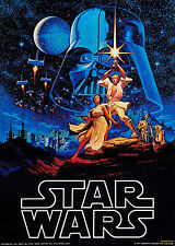 A1 Art Print Poster Painting Film Hildebrandt Star Wars