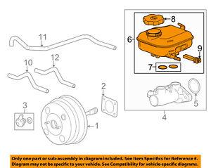 Chevrolet GM OEM 10-15 Camaro-Brake Master Cylinder Reservoir 22956543
