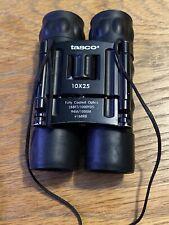 Tasco binoculars 10x25  288ft/1000YDS