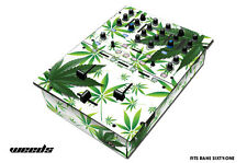 Skin Decal Wrap for RANE Sixty-One DJ Mixer CD Pro Audio Parts DJM CDJ WEEDS WHT