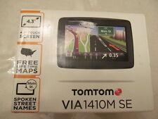 TOMTOM VIA 1410M SE FREE  LIFETIME MAPS  EXCELLENT CONDITION