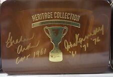 HAWTHORN HERITAGE 2011 MT TIN HAND SIGNED JOHN KENNEDY & GRAHAM ARTHUR