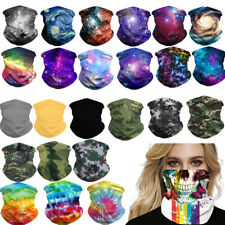 UV Protection Tube Mask Washable Face Cover Neck Gaitor Outdoor Sports  Unisex