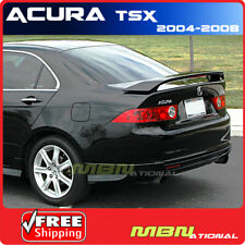 04-08 Acura TSX 4DR Sedan Rear Trunk Tail Wing Spoiler Primer Unpainted ABS
