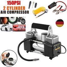 Mini Kompressor Luftkompressor KFZ 12V Auto Fahrad PKW LKW Camping Roller 10bar