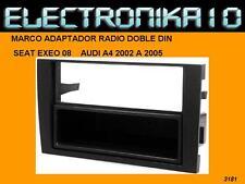 Marco de montaje auto radio audi A4 2002 a 2005 seat Exeo 2008>