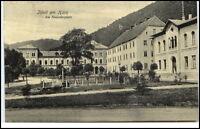 ILFELD Harz Thüringen ~1910/20 Häuser Gebäude Partie am Neanderplatz ungelaufen