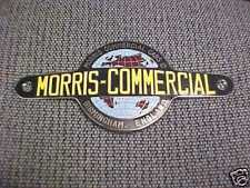 Morris Minor Truck Porcelain Medallion Emblem Cloisonne