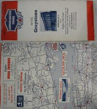 1930's~Mid Atlantic~Mid West Road Map~Consolidated Tour