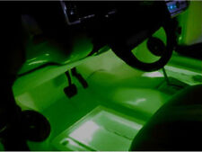 2 ULTRA BRIGHT INTERIOR IN CAR GREEN LED LIGHTS NEONS