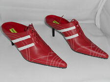 Womens Shoes Penny Kenny SPEED Red Spike Heel size 7.5 US  NIB Reg $169.99