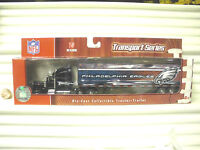 2007 Upper Deck NFL Team Transporter Tractor Trailer Mint in Mint Box*