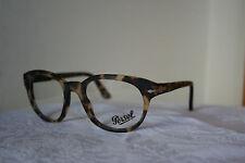 New Persol Eyeglasses PO3052-V Tobacco Virginia(9005) 50-20-140