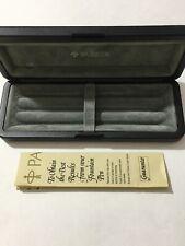 VINTAGE PARKER TRIPLE PEN BOX & GUARANTEE-EXCELLENT CONDITION-BOX ONLY.