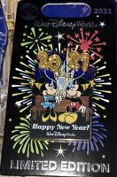 Walt Disney World Mickey and Minnie Happy New Year! 2021 Pin Limited Edition