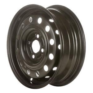 07001 New COMPATIBLE Black Steel Wheel, Rim 14 inch Fits Saturn SC2 1991-2002
