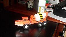 Corgi Volvo BM Cement Construction Truck Orange Block Construction1/50 Scale OLD