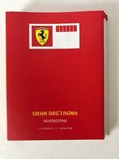 Scuderia Ferrari Press Pass 2006 Silverstone Media livre très rare.