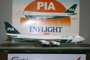 Inflight200 1:200 Pakistan International PIA Boeing 747-200 AP-BCO (IF742PK002)