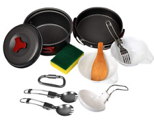 Camping Cookware Mess Kit Pot Set plus Extras New Scouting