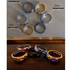 Plating Gold silver Finger Ring lamp Tube Self-lllumination Necklace pendant