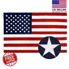 210D Nylon American Flag USA 3x5ft Stars&Stripes Sewn Stripes, Embroidered Stars